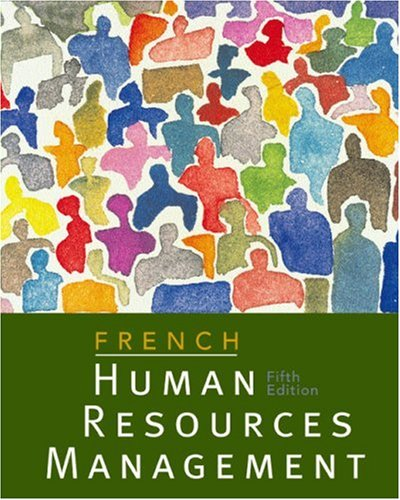 Human Resources Management  5th 2003 9780618123353 Front Cover