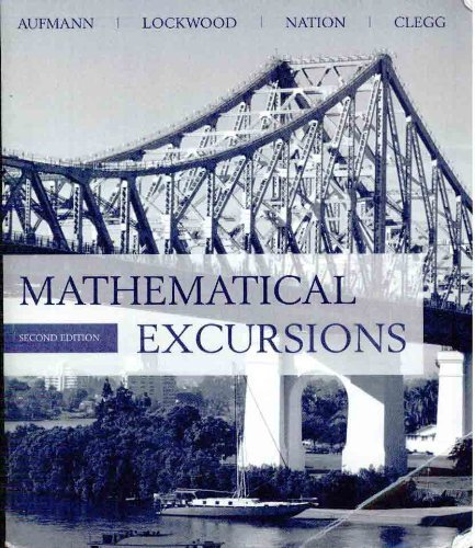MATHEMATICAL EXCURSIONS >CUSTO N/A 9780618769353 Front Cover