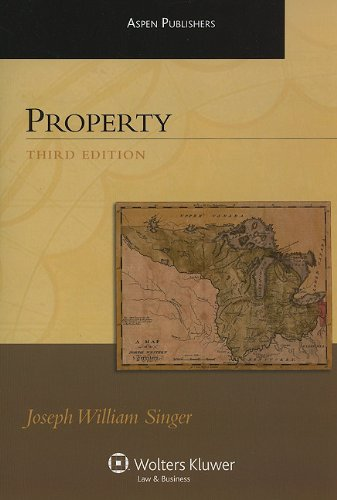 Property 3e  3rd 2010 (Student Manual, Study Guide, etc.) edition cover