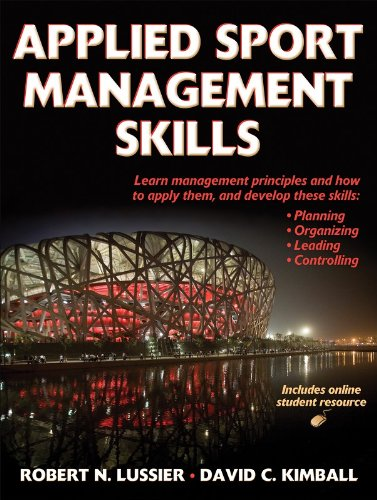 Applied Sport Management Skills   2008 edition cover