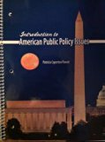 Introduction to American Public Policy Issues  Revised 9780757567353 Front Cover