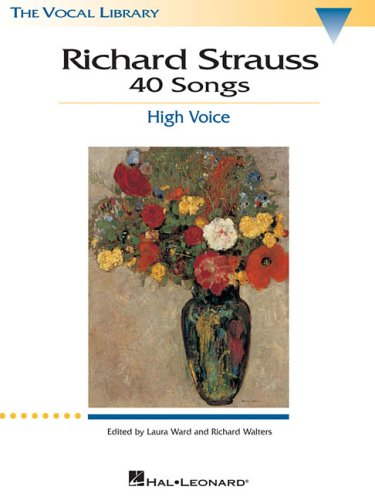 Songs of Richard Strauss High Voice N/A 9780793529353 Front Cover
