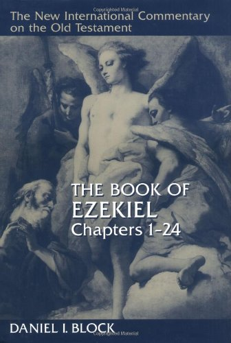 Book of Ezekiel, Chapters 1-24   1997 edition cover
