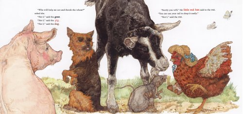 Little Red Hen   2006 edition cover