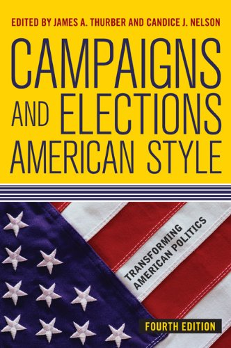 Campaigns and Elections American Style  4th edition cover