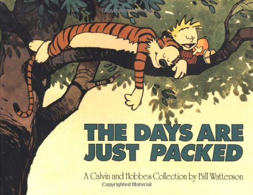 Days Are Just Packed   1993 edition cover