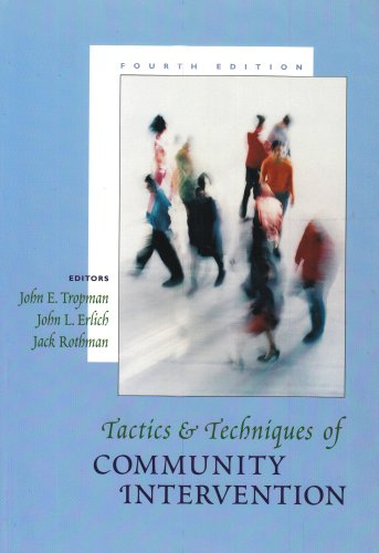 Tactics and Techniques of Community Intervention  4th 2001 edition cover