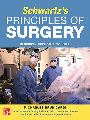 SCHWARTZ's PRINCIPLES of SURGERY 2-Volume Set 11th Edition  11th 2019 9781259835353 Front Cover