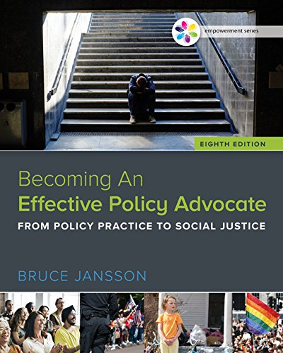 Becoming an Effective Policy Advocate:   2017 9781305943353 Front Cover
