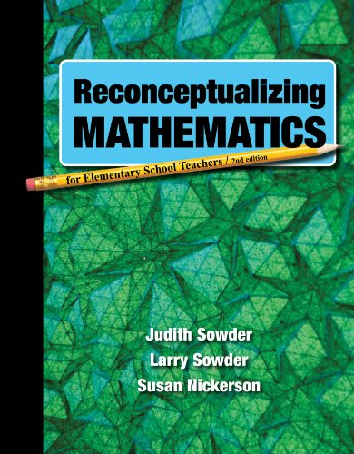 Reconceptualizing Mathematics:   2012 edition cover