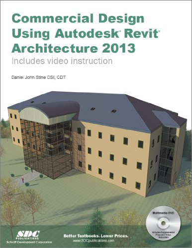 Commercial Design Using Autodesk Revit Architecture 2013  N/A edition cover