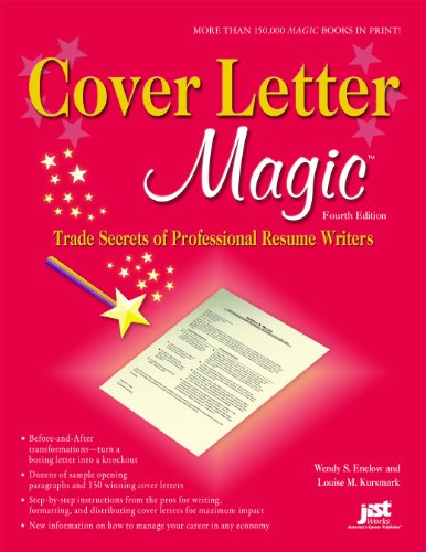 Cover Letter Magic Trade Secrets of Professional Resume Writers 4th 2010 9781593577353 Front Cover