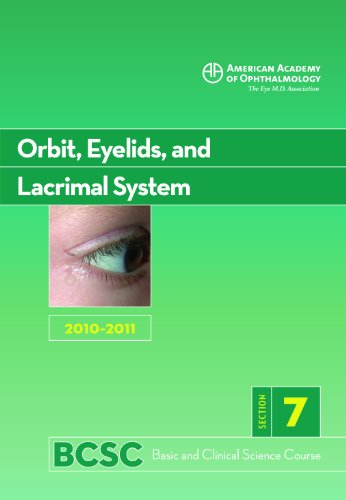 Basic and Clinical Science Course 2010-2011 Section 7: Orbit, Eyelids and Lacrimal System  2010 edition cover