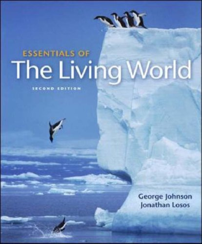 Essentials of the Living World  2nd 2008 (Revised) 9780073309354 Front Cover