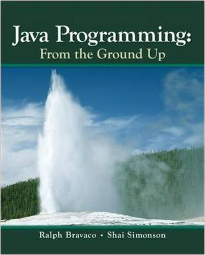 Java Programming From the Ground Up  2010 edition cover