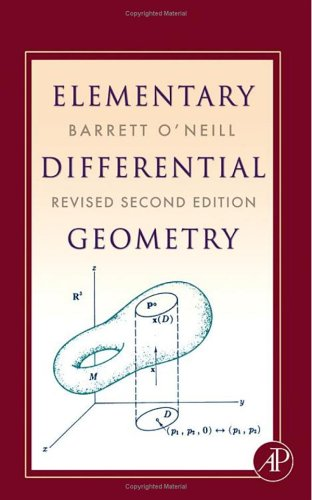 Elementary Differential Geometry  2nd 2006 (Revised) edition cover
