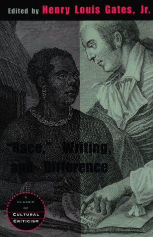 Race, Writing, and Difference   1986 edition cover