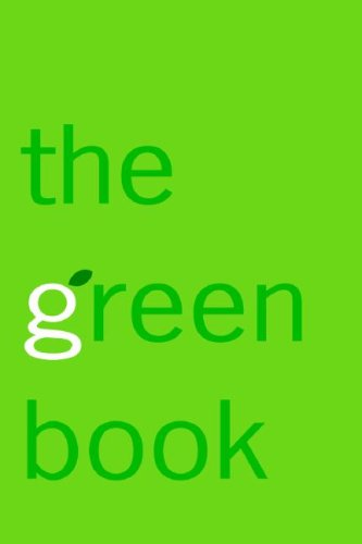 Green Book The Everyday Guide to Saving the Planet One Simple Step at a Time  2007 edition cover
