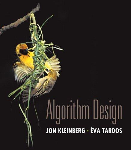 Algorithm Design   2006 edition cover