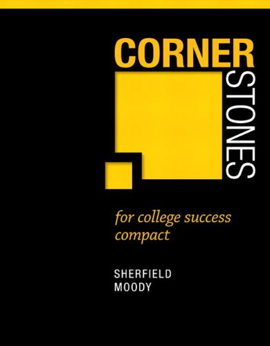 Cornerstones for College Success Compact   2013 edition cover