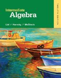 Intermediate Algebra  12th 2016 edition cover