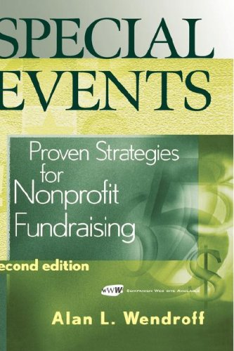 Special Events Proven Strategies for Nonprofit Fundraising 2nd 2004 (Revised) edition cover