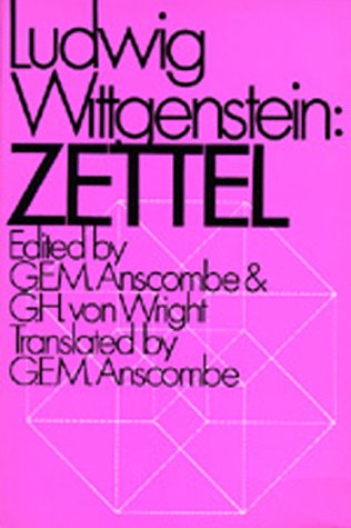 Zettel  N/A edition cover