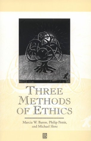 Three Methods of Ethics A Debate  1997 edition cover