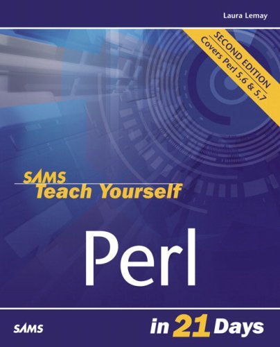 Perl in 21 Days  2nd 2002 (Revised) edition cover