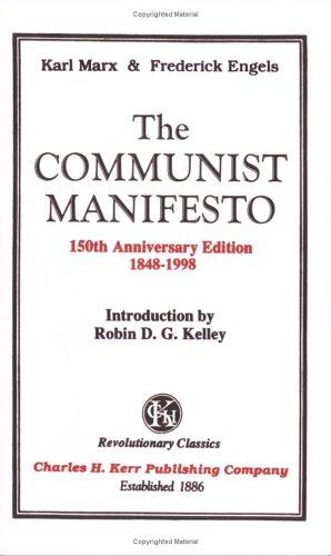 Communist Manifesto  150th 1998 edition cover