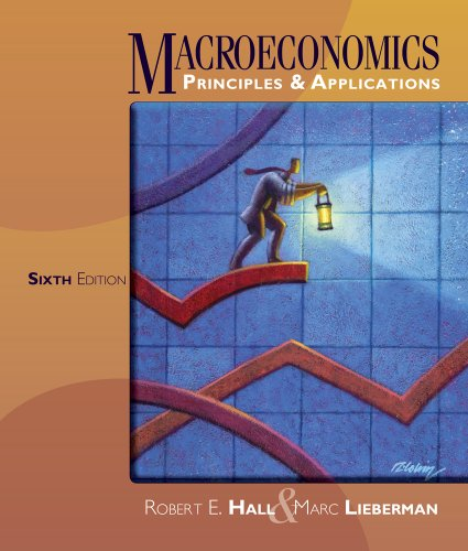 Macroeconomics Principles and Applications 6th 2013 edition cover