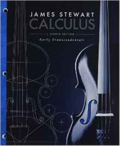 Calculus: Early Transcendentals (Loose Leaf) 8th 2015 edition cover
