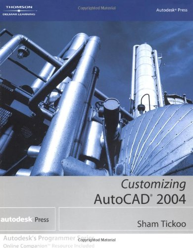 Customizing AutoCAD 2004  2004 9781401851354 Front Cover