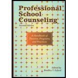 Professional School Counseling: A Handbook of Theories, Programs, and Practices 2nd 2010 edition cover