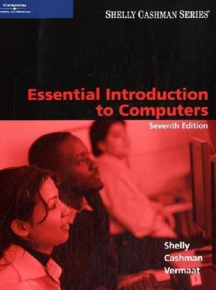 Essential Introduction to Computers  7th 2008 (Revised) 9781423912354 Front Cover