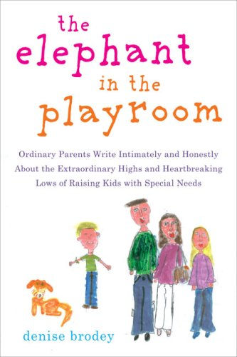 Elephant in the Playroom Ordinary Parents Write Intimately and Honestly about the Extraordinary Highs and Heartbreaking Lows of Raising Kids with Special Needs  2007 edition cover