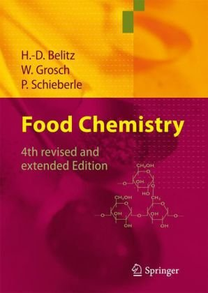 Food Chemistry  4th 2009 edition cover