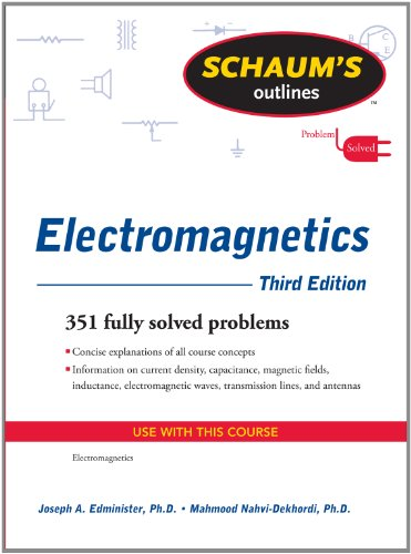Electromagnetics  3rd 2011 edition cover