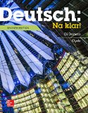 Deutsch - Na Klar!: An Introductory German Course  2015 edition cover