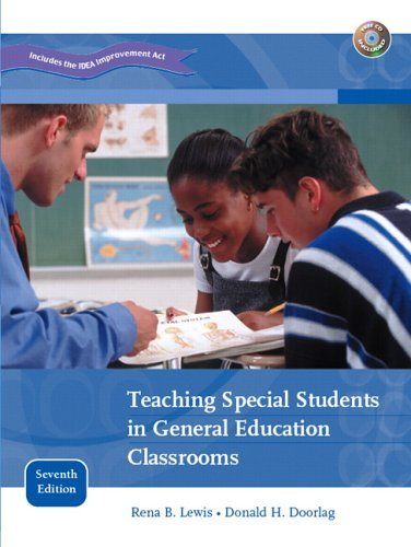 Teaching Special Students in General Education Classrooms  7th 2006 (Revised) edition cover