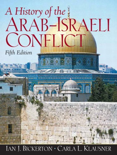 History of the Arab-Israeli Conflict  5th 2007 edition cover
