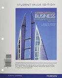 International Business A Managerial Perspective 8th 2015 (Student Manual, Study Guide, etc.) 9780133792355 Front Cover