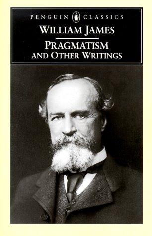 Pragmatism and Other Writings   2000 edition cover