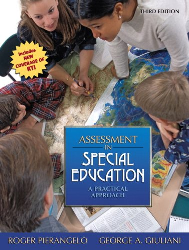 Assessment in Special Education A Practical Approach 3rd 2009 edition cover
