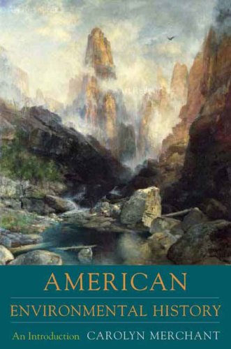 American Environmental History An Introduction  2007 edition cover