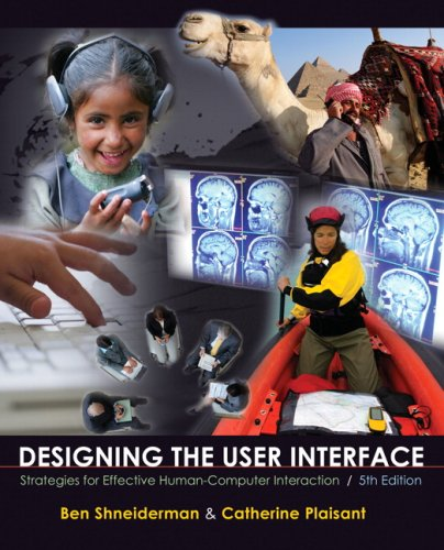 Designing the User Interface Strategies for Effective Human-Computer Interaction 5th 2010 edition cover