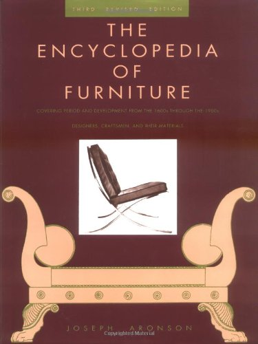 Encyclopedia of Furniture Third Edition - Completely Revised 3rd (Revised) edition cover