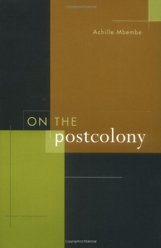 On the Postcolony   2001 edition cover