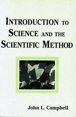 Introduction to Science and the Scientific Method  N/A 9780533158355 Front Cover