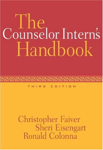 Counselor Intern's Handbook  3rd 2004 (Revised) 9780534528355 Front Cover